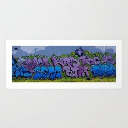 Bit on the Side Art Print