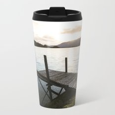Salmon Sunrise Metal Travel Mug