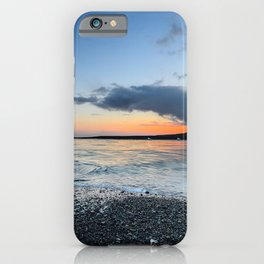 iceland jokulsarlon beach ice coast sky iPhone Case