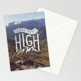 Lets Get High Stationery Cards