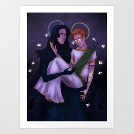 What is Light Without Darkness? Art Print