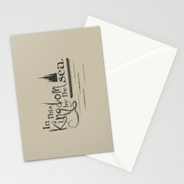 Kingdom by the Sea Stationery Cards