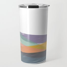 Abstract color balance Travel Mug