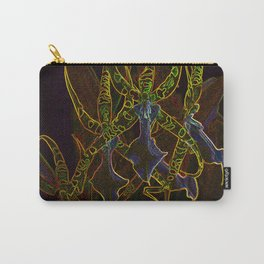 Star Orchids Carry-All Pouch