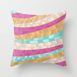 GOLDMOSAIC Throw Pillow