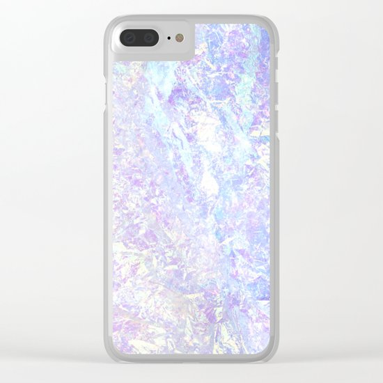 Iridescent Crystal Clear iPhone Case