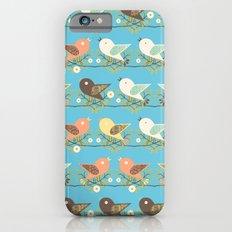 Assorted birds pattern Slim Case iPhone 6s