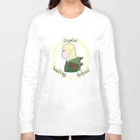 legolas Long Sleeve T-shirts featuring Legolas by Art of Tyler Newcomb