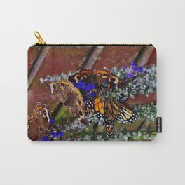 Multiple Butterflies Carry-All Pouch