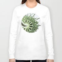 fractal Long Sleeve T-shirts featuring Fractal by A Wandering Soul