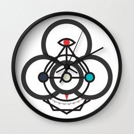 Process Compass Wall Clock