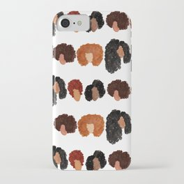 Natural Hair Girls iPhone Case