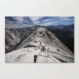 Always Look Down Canvas Print