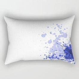 Passion Blue Rectangular Pillow