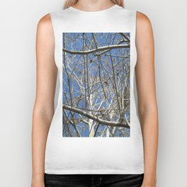 Crisp Cold Florida Morning Biker Tank