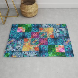 High Definition Geometric Quilt 1 Rug