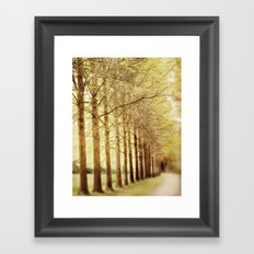 towering Framed Art Print
