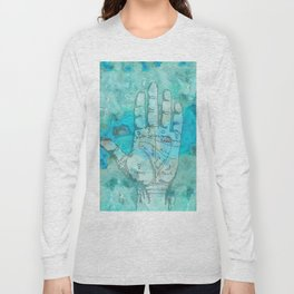 Agate Palm Reading Long Sleeve T-shirt
