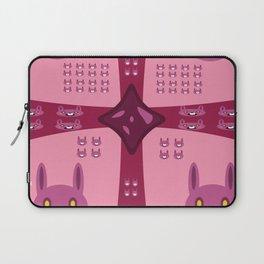 Surprise Pink Bun Bun! Laptop Sleeve
