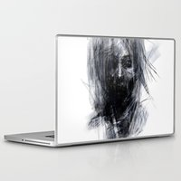 silent hill Laptop & iPad Skins featuring Silent by Gyossaith