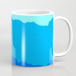 Minimal Mountain Range Outdoor Abstract Coffee Mug