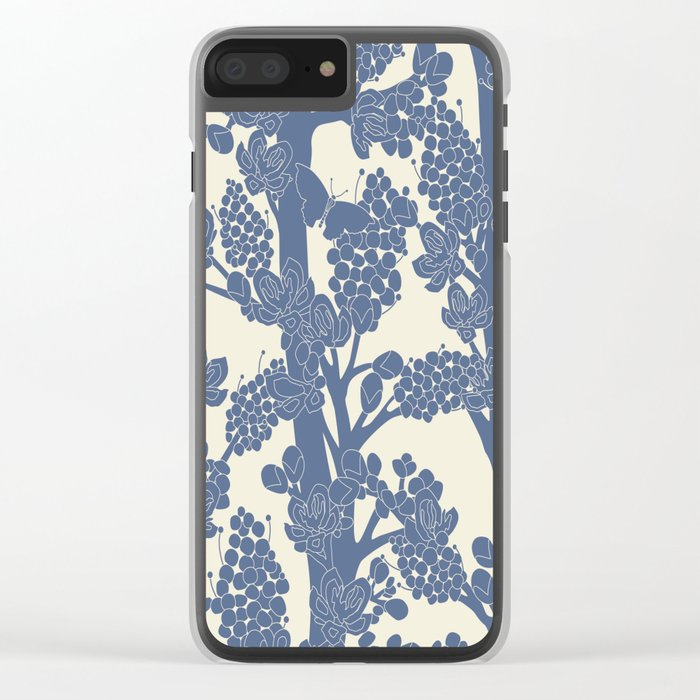 Romantic tree Clear iPhone Case