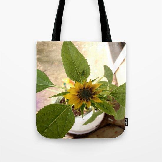 Flower Spider Tote Bag