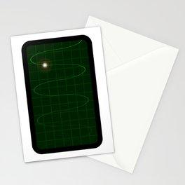 Oscilloscope Stationery Cards