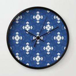 Pleasure in Blue... Wall Clock