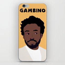 Childish Gambino Minimalist Poster Art iPhone Skin