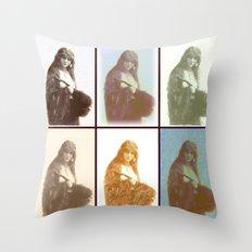 Gypsies 6 Throw Pillow