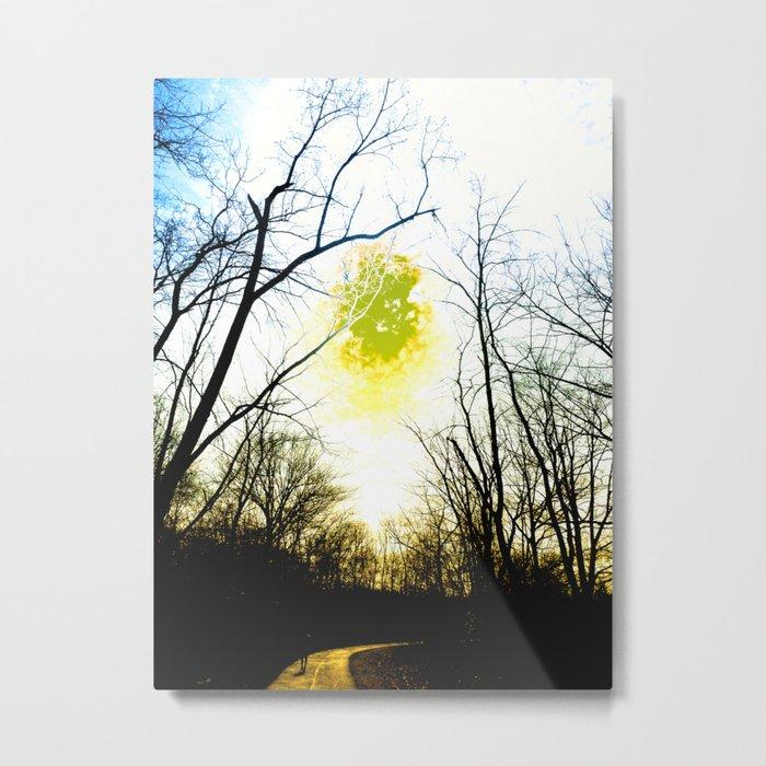 On a Lightened Path #2 Metal Print