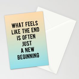 Inspirational - New Beginnings Stationery Cards