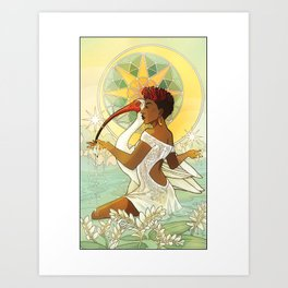 Tarot Series: The Star Art Print