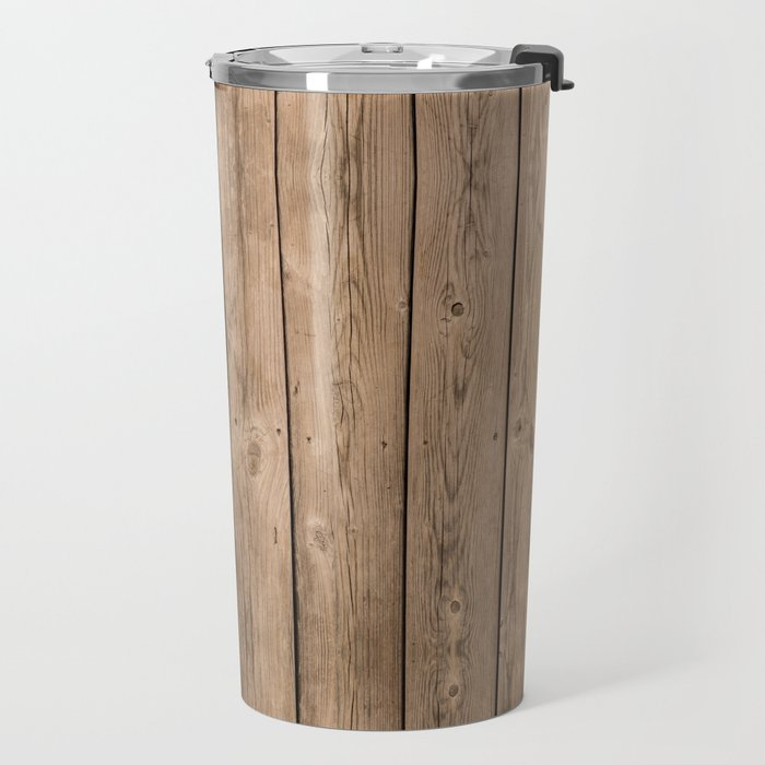Wood I Travel Mug