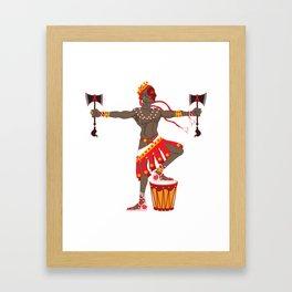Chango Framed Art Print