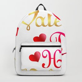 Valentine's Sublimation Happy Valentines Day Backpack