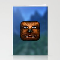 chewbacca Stationery Cards featuring Chewbacca by Michael Flarup