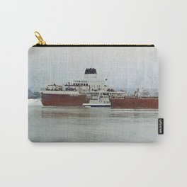 Roger Blough and Ojibway Carry-All Pouch