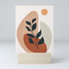 Soft Shapes II Mini Art Print