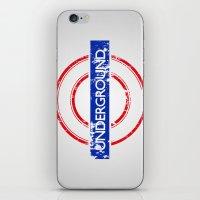 velvet underground iPhone & iPod Skins featuring Underground by eARTh