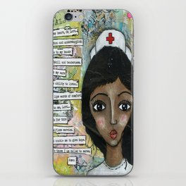 Nurse - African American  iPhone Skin