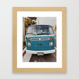 Island Van Framed Art Print