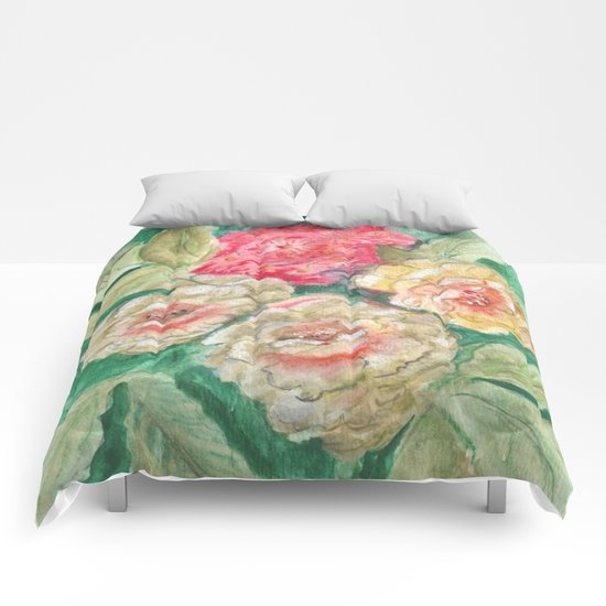 Floral Fusion Comforters