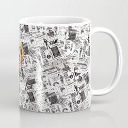 Golden Retriever pop art Coffee Mug