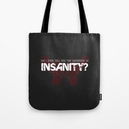 Farcry 3 Butterfly Gun Insanity Tote Bag