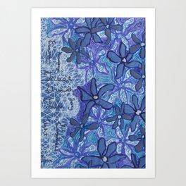 Inspiration Flowers Art Print