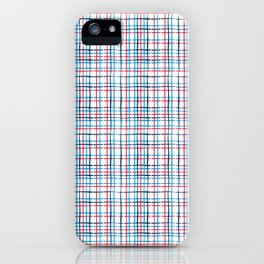 4th of July stripe iPhone Case