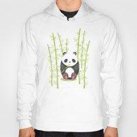 panda Hoodies featuring Panda  by eDrawings38