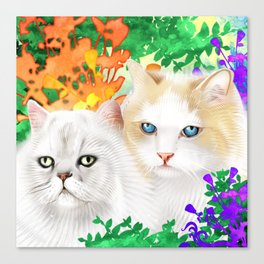 Sam and Sebastian Canvas Print